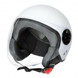 LD-3, casco demi-jet - colore Bianco opaco - Taglia XL COD. 90731