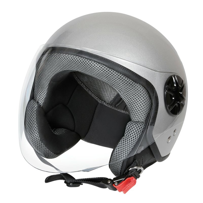 LD-3, casco demi-jet - colore Argento - Taglia L COD. 90735