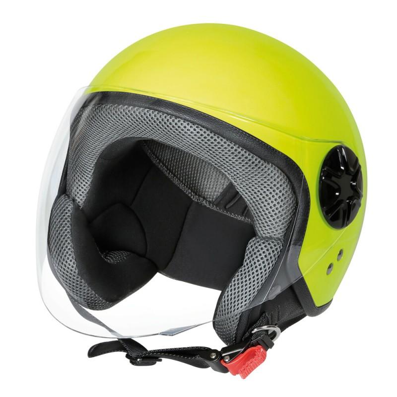 LD-3, casco demi-jet - colore Giallo fluo - Taglia M COD. 90739