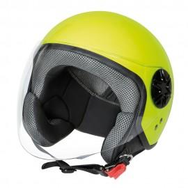 LD-3, casco demi-jet - colore Giallo fluo - Taglia XS COD. 90737