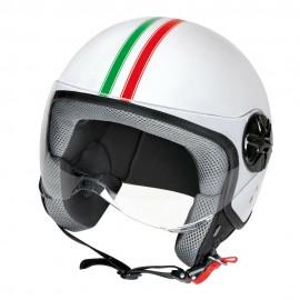 LD-2, casco demi-jet - Bandiera Italiana - Taglia XL COD. 90766