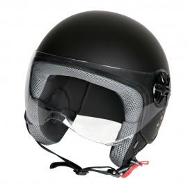 LD-2, casco demi-jet - colore Nero opaco - Taglia XS COD. 90767