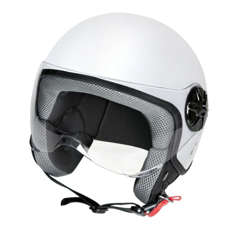 LD-2, casco demi-jet - colore Bianco opaco - Taglia XS COD. 90772