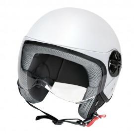 LD-2, casco demi-jet - colore Bianco opaco - Taglia XL COD. 90776