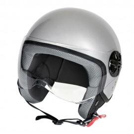 LD-2, casco demi-jet - colore Argento - taglia S COD.90778