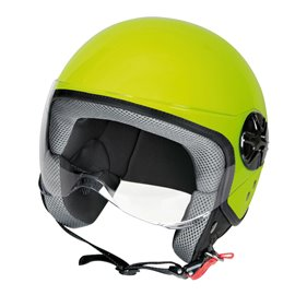 LD-2, casco demi-jet - colore Giallo fluo - taglia XL COD. 90786