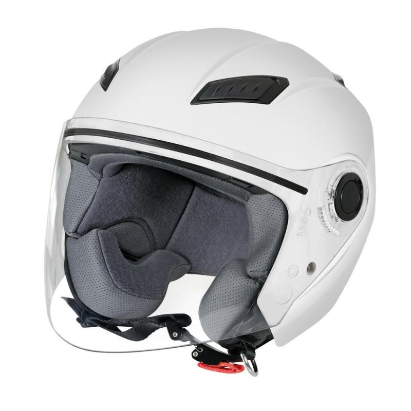 LH-1, casco jet - colore Bianco opaco - Taglia S COD. 90793