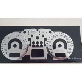 Fondino cruscotto cromato VW Golf IV - Passat IV-V - Bora TDI