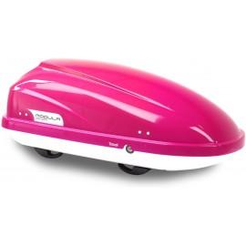 Box tetto Modula Travel Sport 370L colore gloss rosa doppia apertura