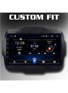 """Hardstone Custom-fit Jeep Renegade HS JEE01-EL Android schermo LCD 9,0"""""""