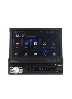 "Phonocar VM045 Mediastation Android 10.0 DAB+ Monitor TFT7"" Motorizzato a scomparsa, lettore CD/DVD/USB/Micro SD Card e AUX-IN"