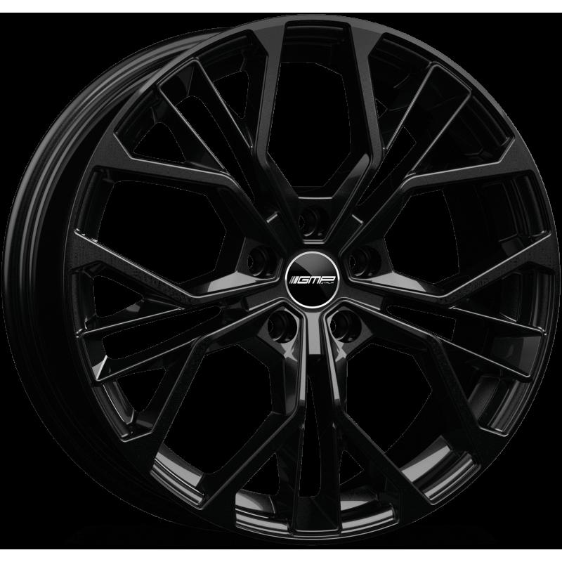 Cerchi in lega GMP MATISSE Glossy Black diametro 16 PCD 5X98 ET 35 - MATI65163525331I