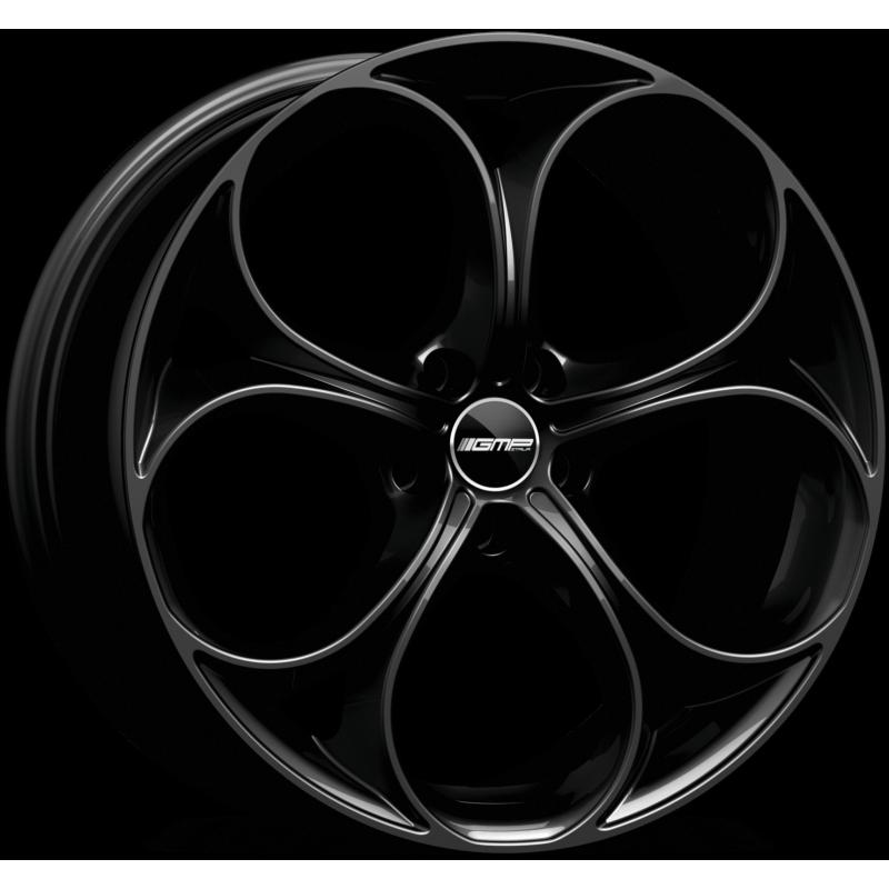 Cerchi in lega GMP DRAKE Glossy Black diametro 18 PCD 5X110 ET 40 - DRAK80184025831I