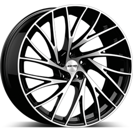 Cerchi in lega GMP ENIGMA Black Diamond diametro 18 PCD 5X110 ET 40 - ENIG80184013427I