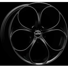 Cerchi in lega GMP DRAKE Glossy Black diametro 19 PCD 5X110 ET 32 - DRAK80193225831I