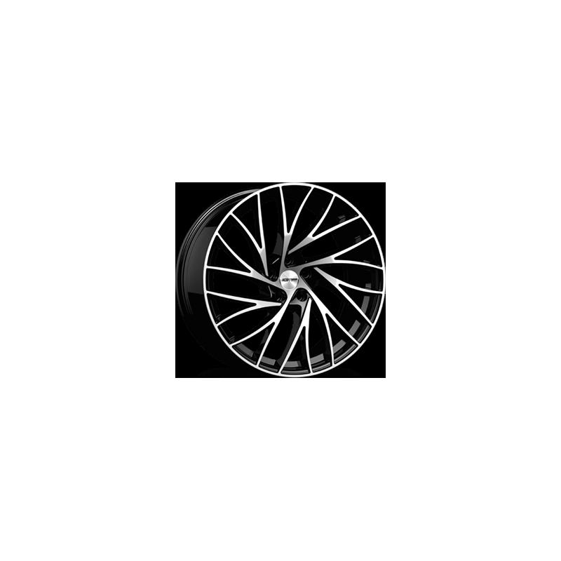 Cerchi in lega GMP ENIGMA Black Diamond diametro 21 PCD 5X110 ET 30 - ENIG90213013427I