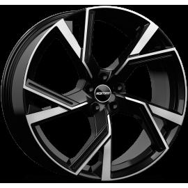 Cerchi in lega GMP ANGEL Glossy Black diametro 18 PCD 5X112 ET 45 - ANGE80184514531I