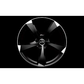Cerchi in lega GMP ICAN Satin Black Diamond diametro 18 PCD 5X112 ET 45 - ICAN75184514538I