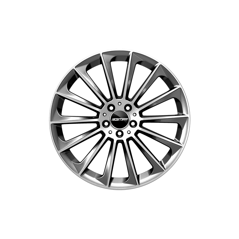 Cerchi in lega GMP STELLAR Anthracite Diamond diametro 18 PCD 5X112 ET 45 - STEL80184515411I