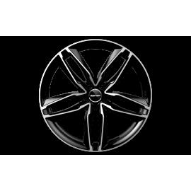 Cerchi in lega GMP ATOM Black Diamond diametro 17 PCD 5X112 ET 35 - ATOM75173514527I