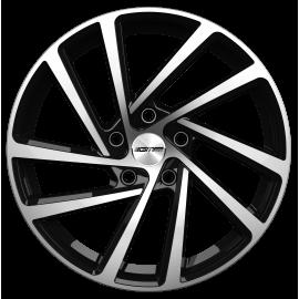 Cerchi in lega GMP WONDER Black Diamond diametro 19 PCD 5X112 ET 40 - WOND80194013827I