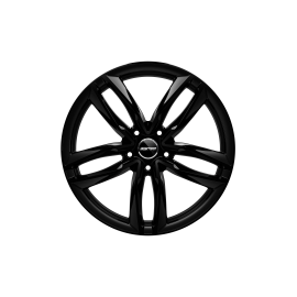 Cerchi in lega GMP ATOM Glossy Black diametro 19 PCD 5X112 ET 25 - ATOM85192514531I