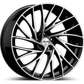 Cerchi in lega GMP ENIGMA Black Diamond diametro 20 PCD 5X112 ET 30 - ENIG85203016227I