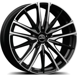 Cerchi in lega GMP SPARTA Black Diamond diametro 21 PCD 5X112 ET 35 - SPAR90213515427I