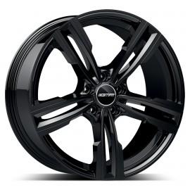 Cerchi in lega GMP REVEN Glossy Black diametro 20 PCD 5X120 ET 35 - REVE85203522331I