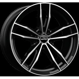 Cerchi in lega GMP SWAN Black Diamond diametro 19 PCD 5X120 ET 30 - SWAN80193022327I