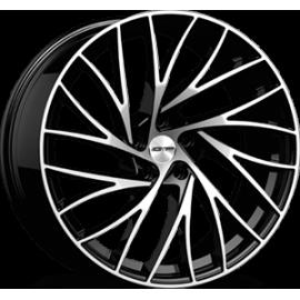 Cerchi in lega GMP ENIGMA Black Diamond diametro 20 PCD 5X120 ET 35 - ENIG85203522327I