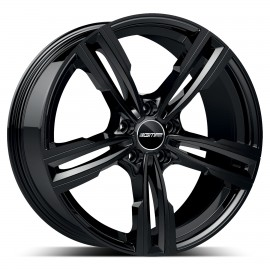 Cerchi in lega GMP REVEN Glossy Black diametro 20 PCD 5X120 ET 25 - REVE85202522331I