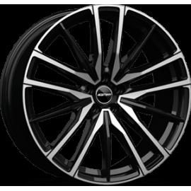 Cerchi in lega GMP SPARTA Black Diamond diametro 22 PCD 5X112 ET 43 - SPAR05224315427I