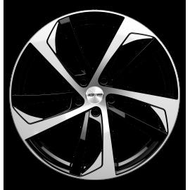 Cerchi in lega GMP KATANA Black Diamond diametro 20 PCD 5X108 ET 45 - KATA85204511827I