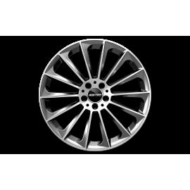 Cerchi in lega GMP STELLAR Anthracite Diamond diametro 21 PCD 5X112 ET 27 - STEL10212715511I