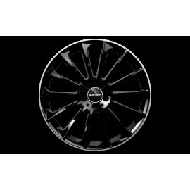 Cerchi in lega GMP STELLAR Black Diamond Lip diametro 22 PCD 5X112 ET 50 - STEL10225015430I
