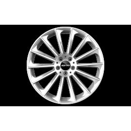 Cerchi in lega GMP STELLAR Silver diametro 21 PCD 5X112 ET 38 - STEL15213815540I