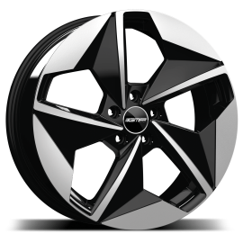 Cerchi in lega GMP E-MOTION Black Diamond diametro 20 PCD 5X112 ET 44 - EMOT75204427127I