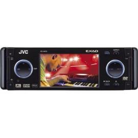 SINTOLETTORE DVD-CD RECEIVER JVC KD-AVX2 MONITOR 3,5 POLLICI + CAVO PER COLLEGAMENTO IPOD IN OMAGGIO