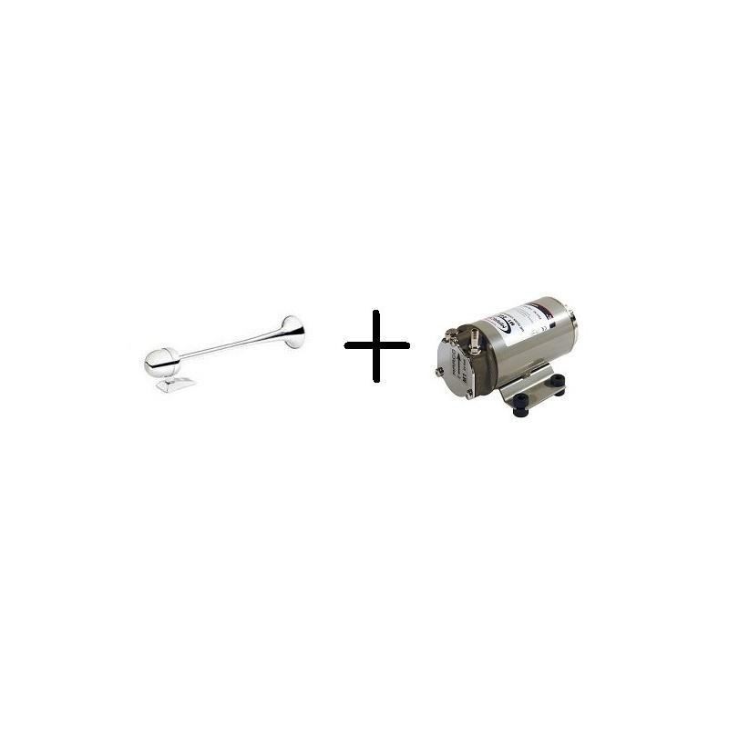 Tromba Alpex con compressore 12V