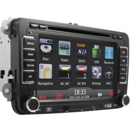 "Volkswagen Media Station Led Digitale 7"" Bluetooth Modulo GPS integrato per sistema di navigazione"