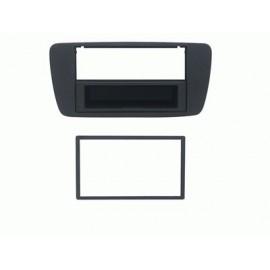 Mascherina con foro 2DIN ISO Antracite Seat Ibiza 2008 ► 2012