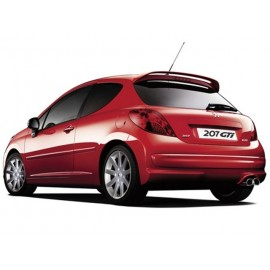 Spoiler Posteriore Helvetia GTI look Peugeot 207