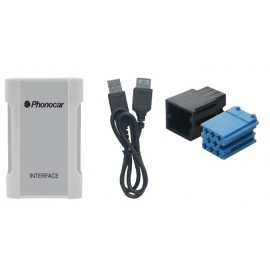 Interfaccia Audio Phonocar USB SD MP3 iPOD iPHONE ► 4S CD Changer Connection Audi Seat Skoda Volkswagen