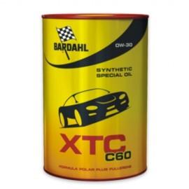 1 Litro Olio Bardahl Auto XTC C60 0W30