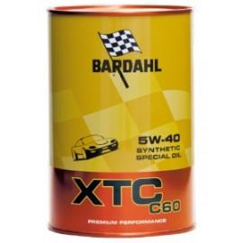 1 Litro Olio Bardahl Auto XTC C60 5W40