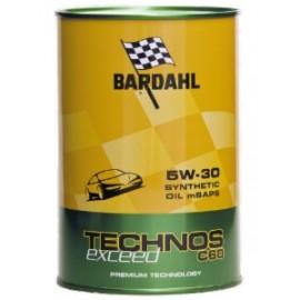1 Litro Olio Bardahl Auto TECHNOS C60 5W30 m-SAPS