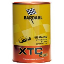 1 Litro Olio Bardahl Auto XTC C60 15W50