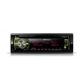 Sintolettore Pioneer CD RDS con USB anteriore e ingresso Aux-in controllo iPod iPhone