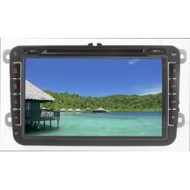 Phonocar Media Station Led Digitale 8'' Bluetooth Modulo GPS integrato per sistema di navigazione Seat Skoda Volkswagen